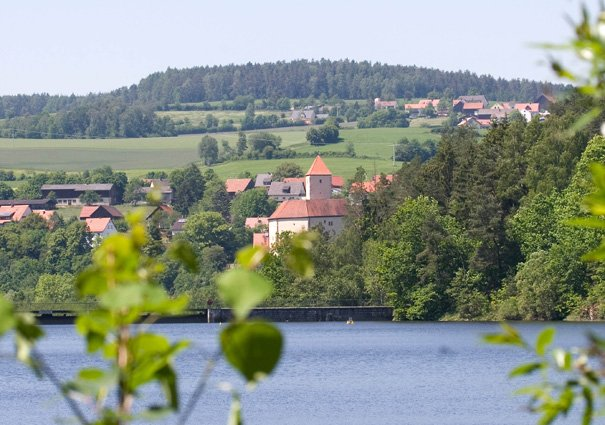Stausee Trausnitz