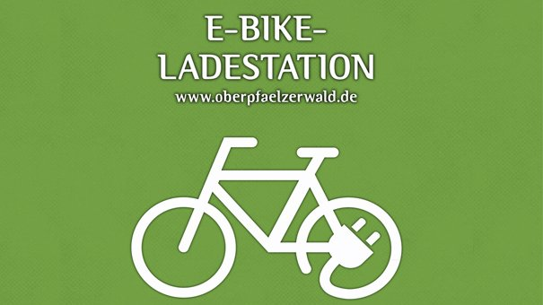 E-Bike-Ladestation Waldbad Grafenwöhr